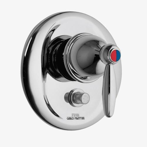 Смеситель для ванны и душа встраиваемый с переключателем на 2 выхода Fima Olivia F3229X2