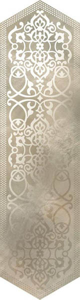 Керамогранит Roberto Cavalli Bright Pearl LOSANGA DEC BRONZE 24x90