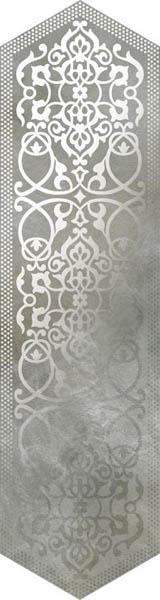 Керамогранит Roberto Cavalli Bright Pearl LOSANGA DEC SILVER 24x90