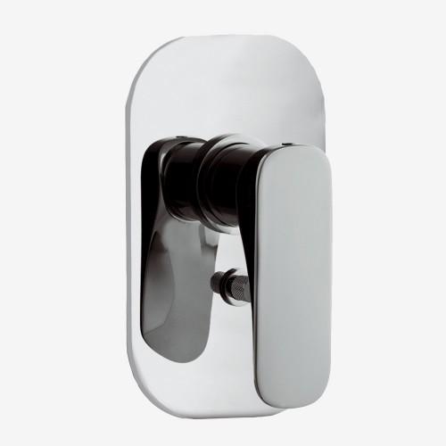 Смеситель для ванны и душа встраиваемый с переключателем на 2 выхода Fima Quad F3729X2