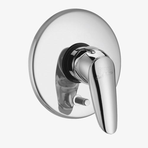 Смеситель для ванны и душа встраиваемый с переключателем на 2 выхода Fima Serie 2 F3209X2