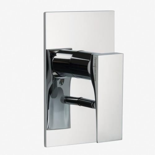 Смеситель для ванны и душа встраиваемый с переключателем на 2 выхода Fima Zeta F3969X2