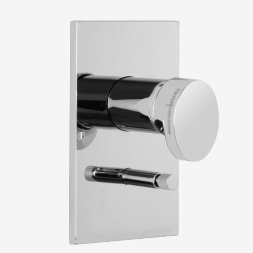 Смеситель для ванны и душа встраиваемый с переключателем на 2 выхода Fima Next F3939X2