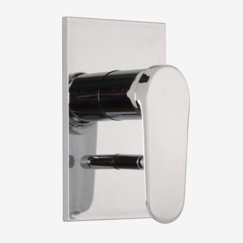 Смеситель для ванны и душа встраиваемый с переключателем на 2 выхода Fima Next F3949X2