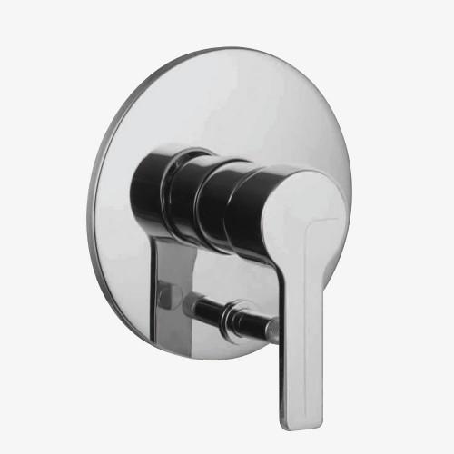 Смеситель для ванны и душа встраиваемый с переключателем на 2 выхода Fima Matrix F3539X2