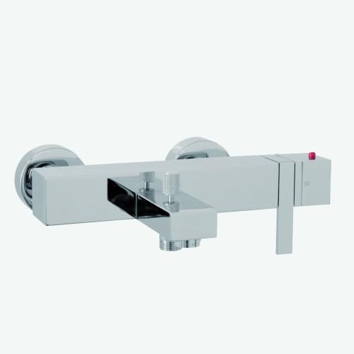 Смеситель термостатический на ванну внешнего монтажа без душевого комплекта Fima Brick F783082