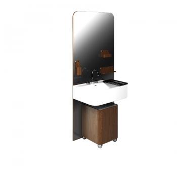 Комплект мебели для ванной комнаты Olympia Beauty в цвете - венге