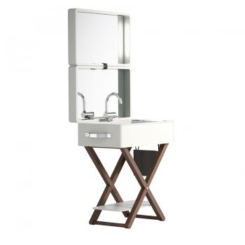 Комплект мебели для ванной комнаты Olympia My Bag в цвете - лёд