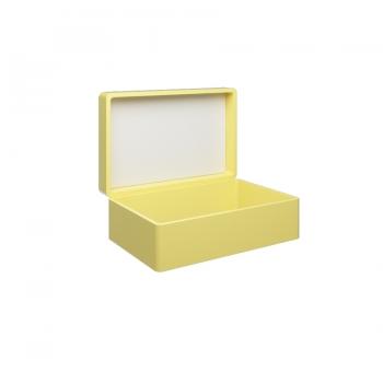 Чемодан для раковины Olympia My Bag с зеркалом в желтом цвете