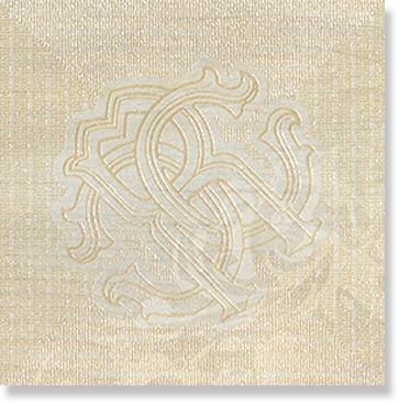 Декор Roberto Cavalli Rinascimento SIGNORIA FRASSINO FIRMA ARALDICA 0557908 25x25