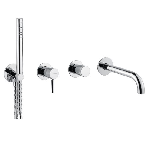 Смеситель для ванны с душем встраиваемый Bugnatese Kobuk | 2201