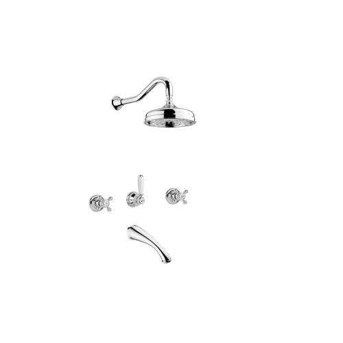 Смеситель для ванны с душем Bugnatese Arcadia | 8328