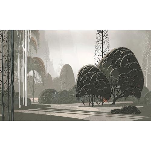 Обои Arte Décors & Panoramiques Le jardin mystique 97551
