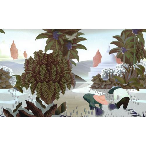 Обои Arte Décors & Panoramiques Hills of Sapa 97591