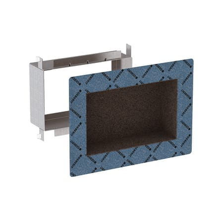 Инсталляция Geberit Duofix для коробки для хранения в нише для облицовки плиткой