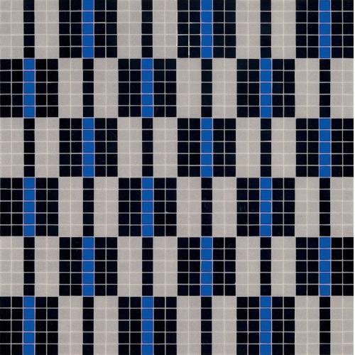 Мозаика Bisazza Alternance Bleue