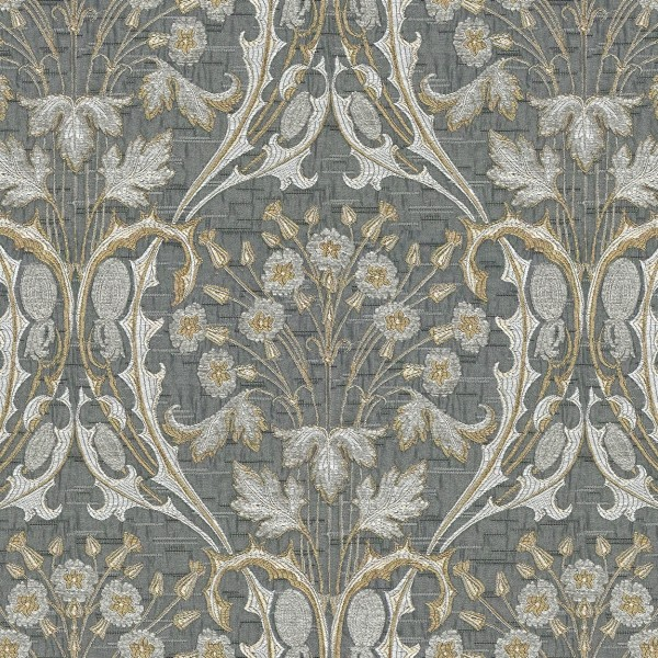 Ткань Jim Dickens Bouquet Greystone