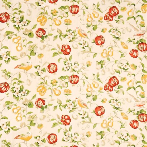 Ткань Sanderson Pear  Pomegranate | DAPGPE205