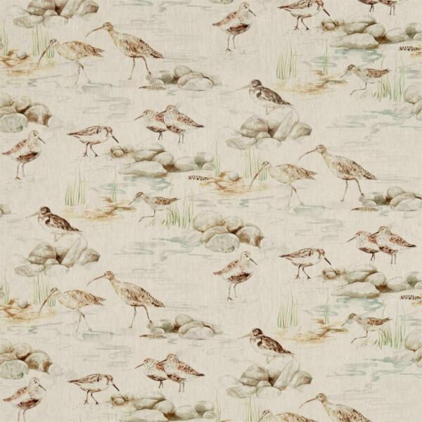 Ткань Sanderson Estuary Birds Linen   226427