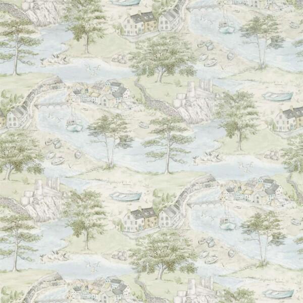 Ткань Sanderson Sea Houses | 226435