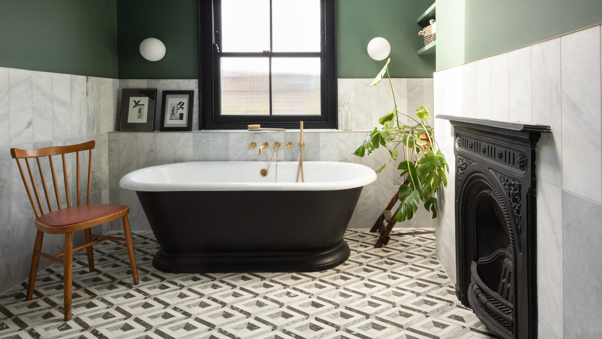 Десять дизайнерских ванных комнат с отдельностоящими ваннами