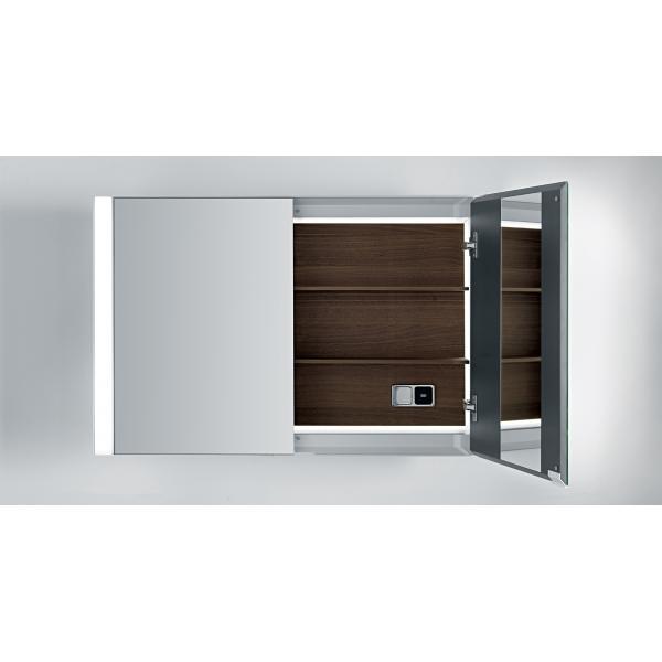 Шкаф подвесной с зеркалом Falper Quattro.Zero - 6L5/6L7