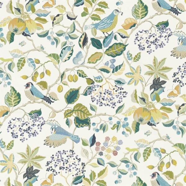 Ткань Sanderson Birds  Berries | 226728