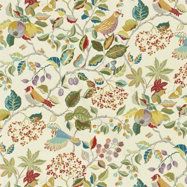 Ткань Sanderson Birds  Berries | 226729