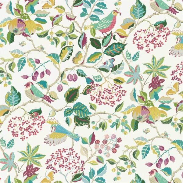 Ткань Sanderson Birds  Berries | 226730