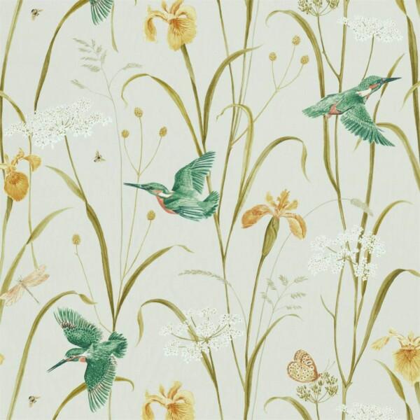 Ткань Sanderson Kingfisher  Iris | 226731