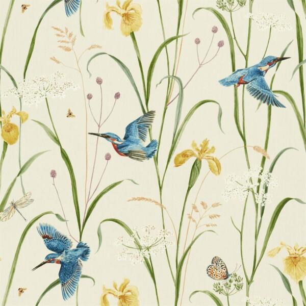 Ткань Sanderson Kingfisher  Iris | 226732