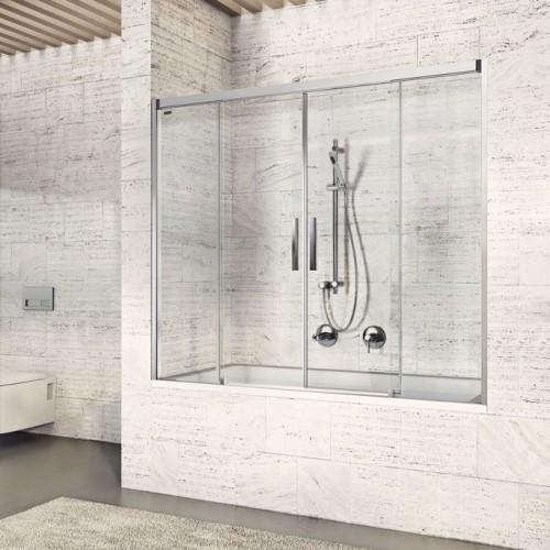 Душевая дверь для ванны раздвижная Duscholux Bella Vita 3