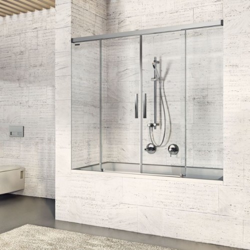Душевая дверь для ванны раздвижная Duscholux Bella Vita 3 Plus
