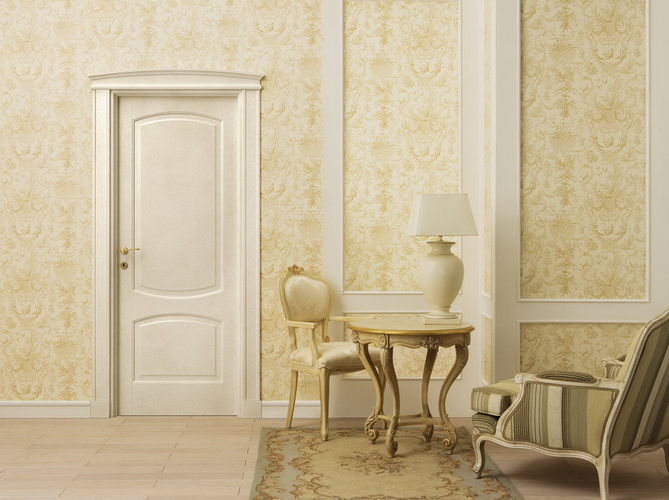 Распашные двери Legnoform Pergamenata