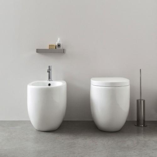 Унитаз напольный Nic Design Milk A Terra Rimless   F-003716