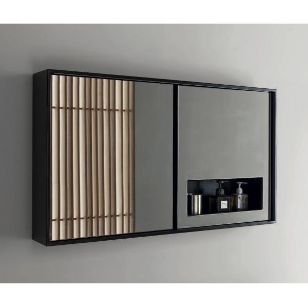 Зеркало Nic Design Contenitore Con Mensola E Illuminazione Led | F-012791