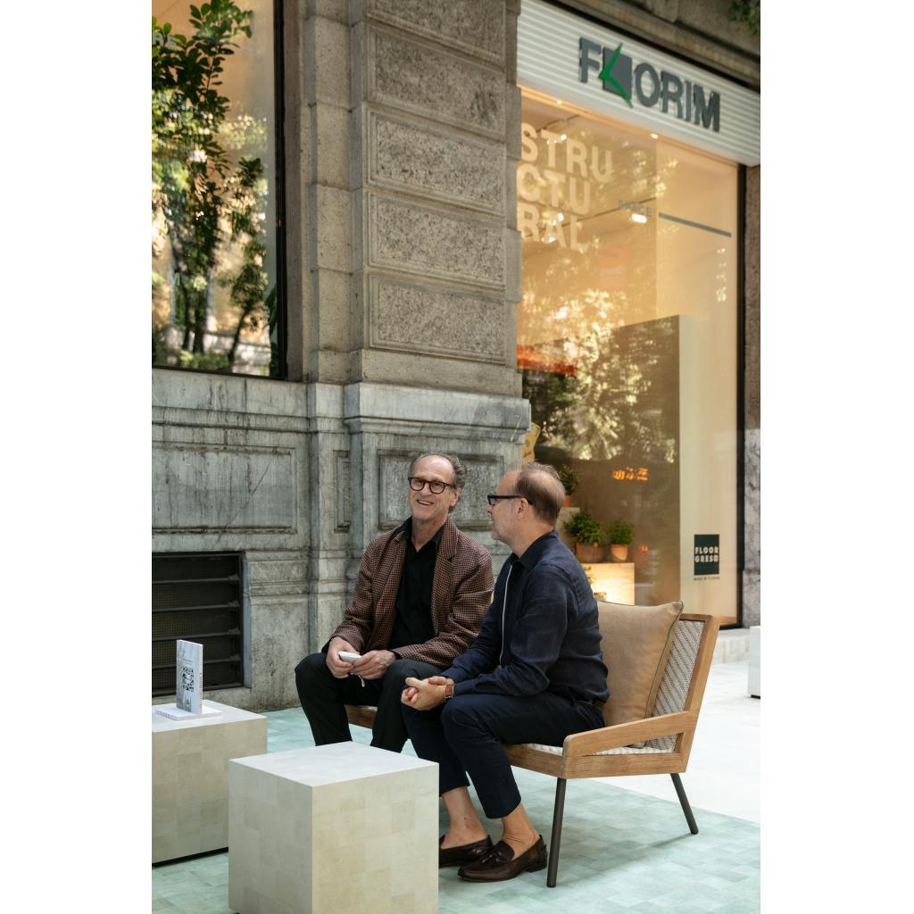Florim представляет керамогранит Sensi Pigmenti 001   элитный интерьерный салон «СЕРГО»