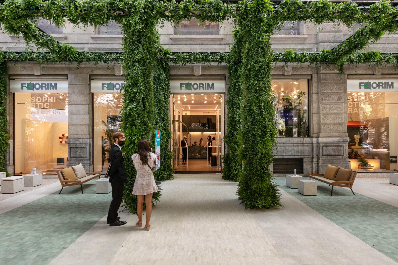 Florim представляет Sensi Pigmenti с инсталляцией на Миланской неделе дизайна 2021   элитный интерьерный салон «СЕРГО»