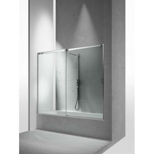 Перегородка душевая для ванны с раздвижной дверью Vismaravetro Bathscreens BN