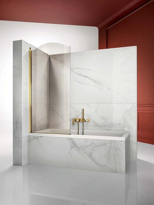 Перегородка душевая для ванны Vismaravetro Bathscreens GLV