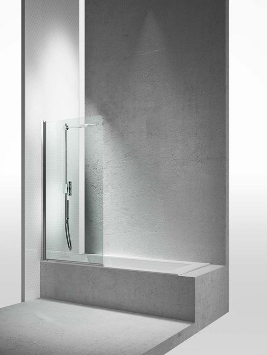 Перегородка душевая для ванны Vismaravetro Bathscreens LV