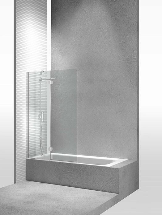Перегородка душевая для ванны Vismaravetro Bathscreens PV