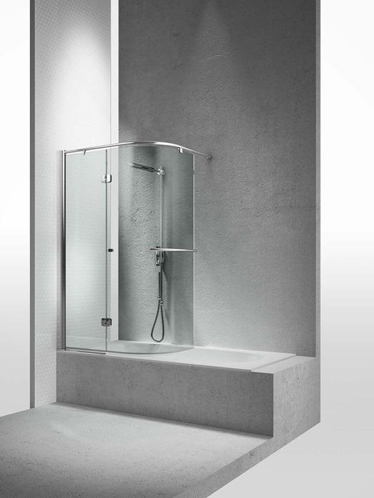 Перегородка душевая для ванны Vismaravetro Bathscreens SR