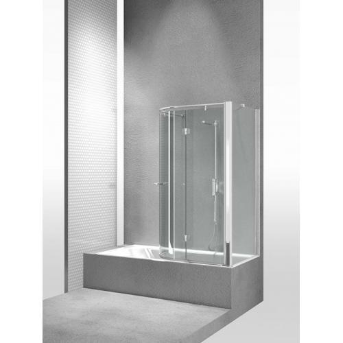 Перегородка душевая для ванны Vismaravetro Bathscreens SR+SE