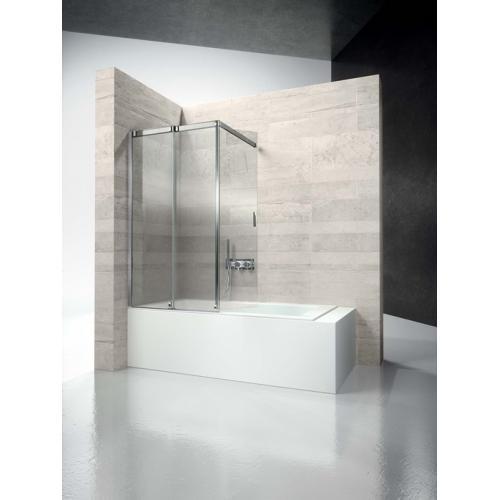 Перегородка душевая для ванны с раздвижной дверью Vismaravetro Bathscreens VR