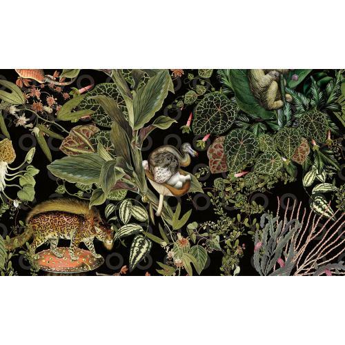 Обои Arte Moooi Wallcovering Extinct Animals Menagerie of Extinct Animals MO2071