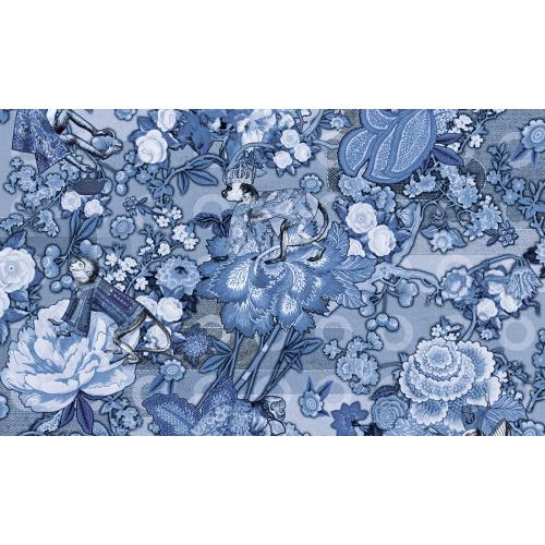 Обои Arte Moooi Wallcovering Tokyo Blue Rendezvous Tokyo Blue MO3012