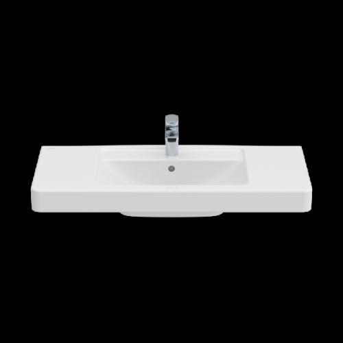 Pаковина Villeroy&Boch Architectura 611610 для установки на тумбу (прямоугольная модель)