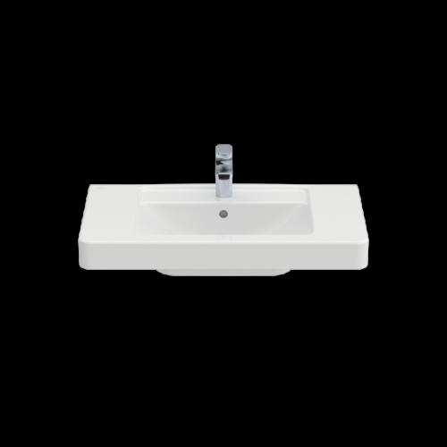 Pаковина Villeroy&Boch Architectura 611680 для установки на тумбу (прямоугольная модель)