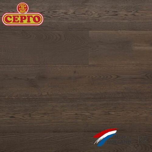 Трехслойный дубовый паркет Q2 By Parketfabriek Lieverdink Smoked Oiled Black